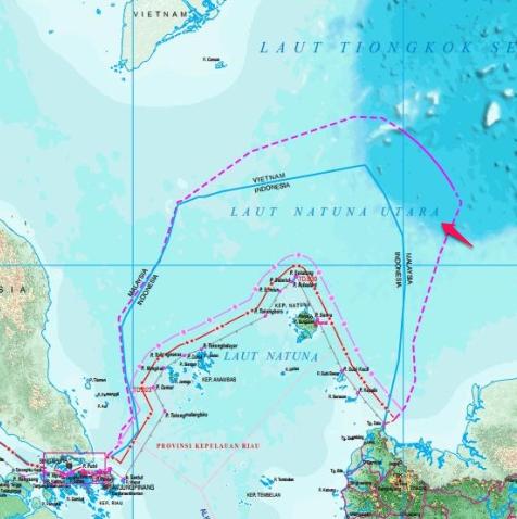 peta indonesia baru 2017 natuna