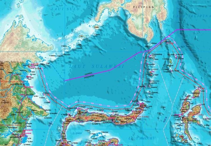 peta indonesia terbaru 2017