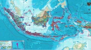 Peta Indonesia Revisi Terbaru 2017