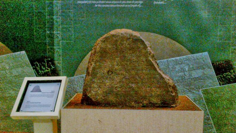 prasasti palas pasemah kerajaan sriwijaya