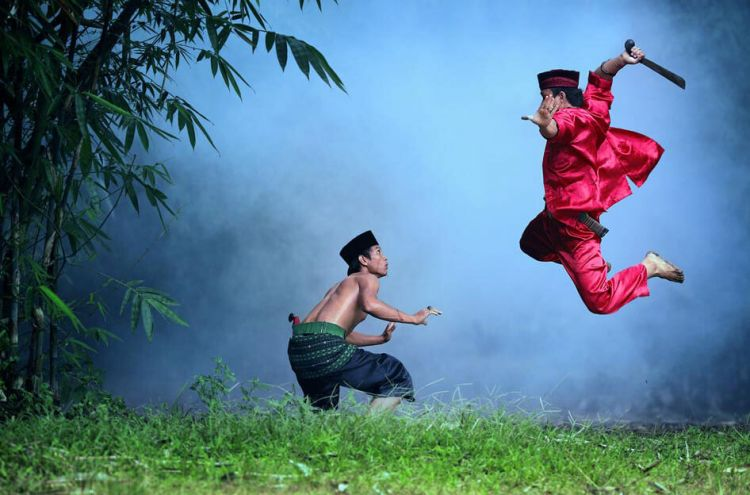 pencak silat di indonesia