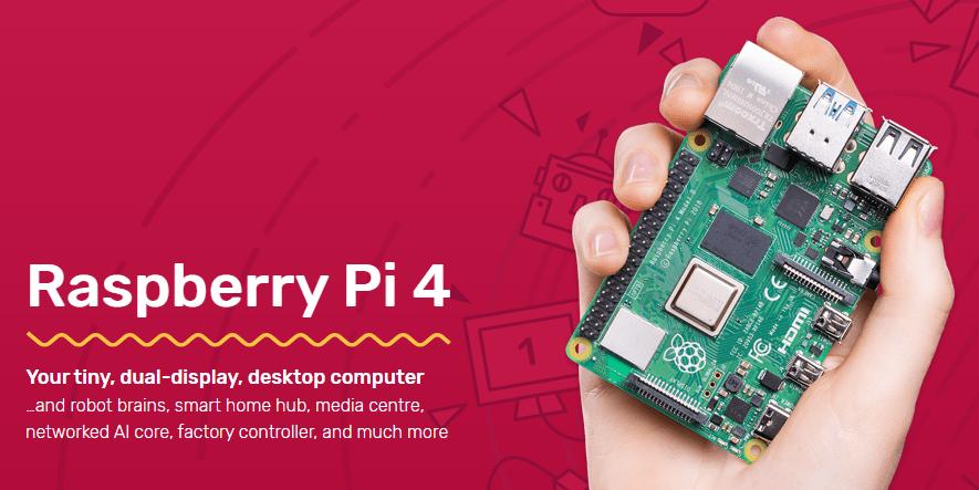 Raspberry Pi 4 Promo