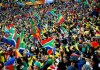 South Africa Fans Celebration at Soccer City