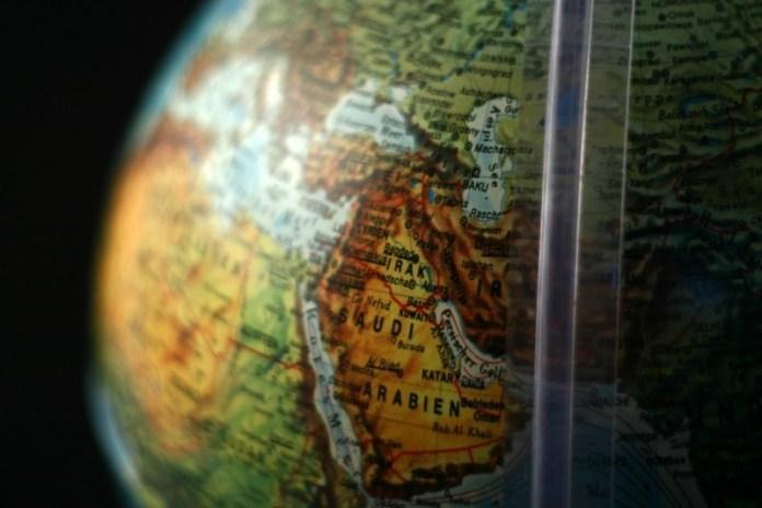 Globe - East Middle - Middle East - Saudi Arabia