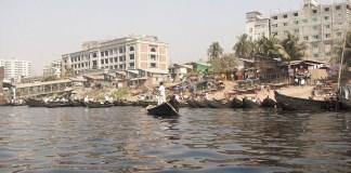 Buriganga River in Dhaka