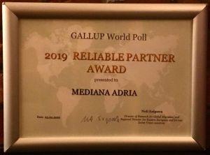 Gallup World Poll Reliable partner award