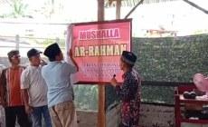 Permalink ke Sambut Ramadhan 1442 H, Mushalla Ar-Rahman Durian Condong Diresmikan