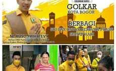 Permalink ke Golkar Kota Bogor, Berbagi di Bulan Ramadhan