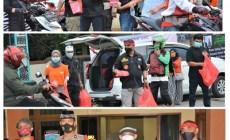 Permalink ke DPW M1R Kota Tangerang bersama Polsek Pamulang Berbagi Takjil