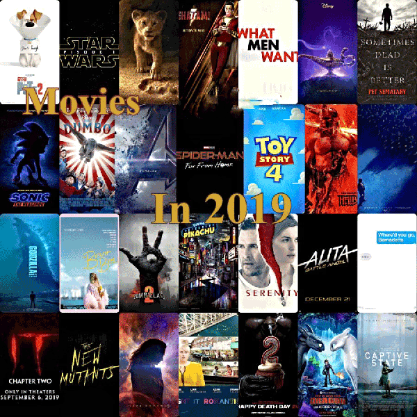 Top Movies Of 2019