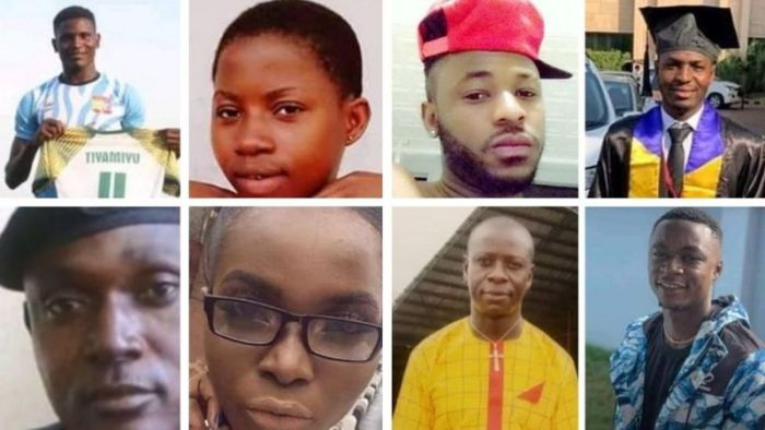 Names and Photos Of Those Killed By SARS