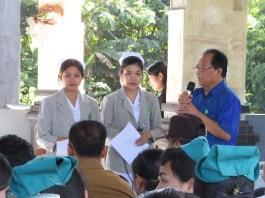 Praktik Keperawatan Komunitas, Desa Tengkudak Terima 30 Mahasiswa Stikes Advaita