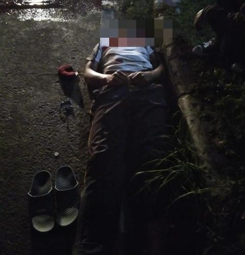LAKA LANTAS : Kondisi Korban I Ketut Sudarma usai Tewas di jalur Tengkorak