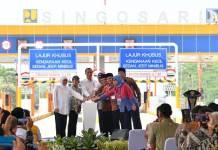 Presiden Jokowi Resmikan Tol Pandaan-Malang