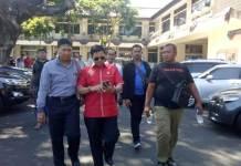 - Anggota Komisi III DPRD Provinsi Bali, I Kadek Diana melaporkan anggota DPRD Bali Dewa Nyoman Rai ke Mapolda Bali