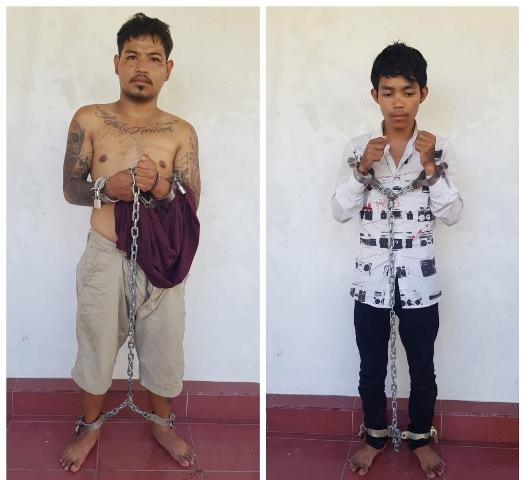 Dua Pelaku Jambret Spesialis I Gede Astawa alias Ode (24) dan I Ketut Agung (27) diringkus Polisi