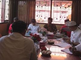 Rapat kerja Komisi I DPRD Tabanan dengan Badan Kepegawaian dan Pengembangan Sumber Daya Manusia (BKPSDM) terkait rencana usulan formasi PNS dan PPPK tahun 2019.