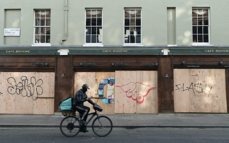 Aesthetics of Vacancy in Lockdown London