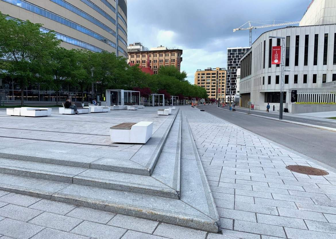 A Pandemic in the Design City: Montreal During a Quiet Time