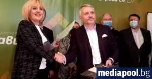 Трио и Манолова подписаха споразумение за единни избирателни списъци (видео)