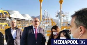 Борисов приветства азербайджанския газ близо до Петрич, след като Вучич приветства руския