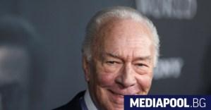 Актьорът Кристофър Плъмър е на 91 години