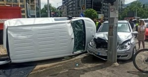Вейди Рашидов е приет в болница след катастрофа в София (видео)