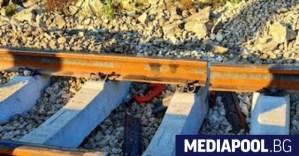 Нова катастрофа с влак се случи малко преди забравената дупка в релсите