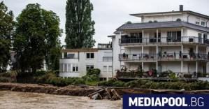 Повече от 150 души, засегнати от наводнения в Европа