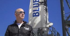 Джеф Безос отива в космоса