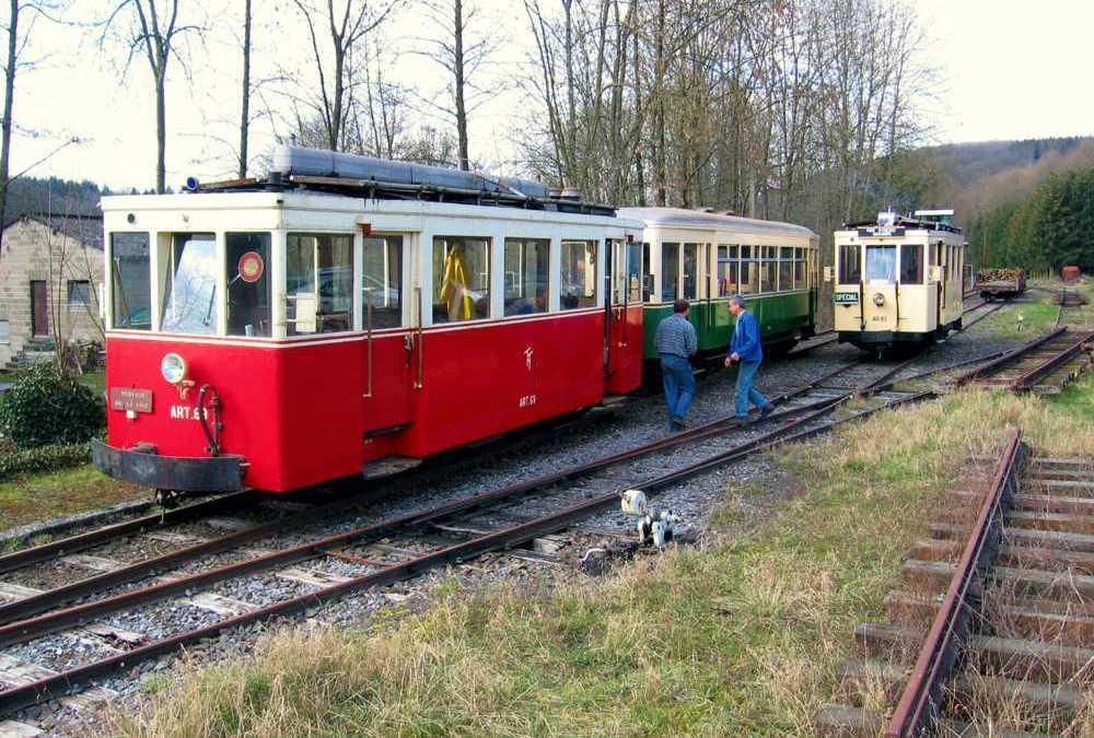 Le rail ardennais roule à Érezée
