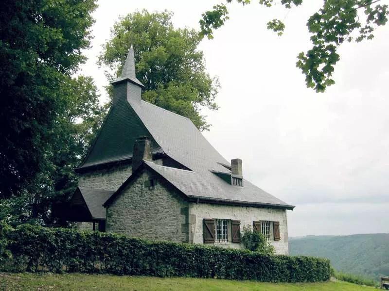 Le site de Saint-Thibaut, sur les Hauts de Marcourt