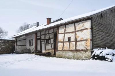 Haute-Bodeux | Une très ancienne construction en colombages