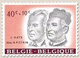 Un timbre à l'effigie de Nicolas Pietkin - 1961