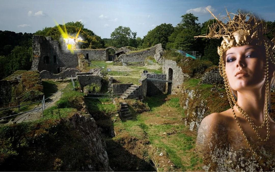 La gatte d'or du château de Logne | Ferrières