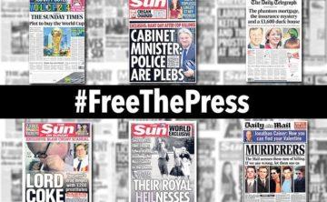 #FreeThePress from press barons