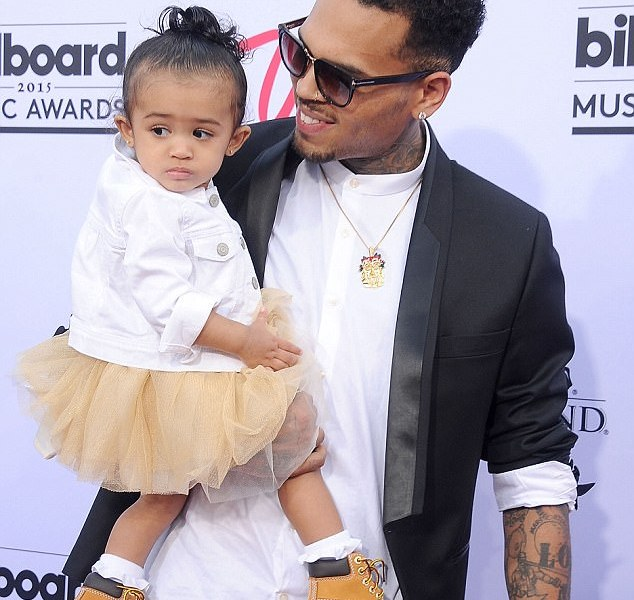 Chris Brown's daughter Royalty Brown launches cosmetics ...