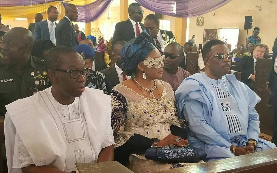 Anambra first lady, Ebele Obiano, steps out in stylish Gucci