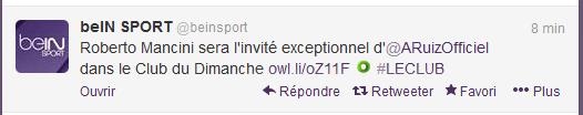 Tweet BeIN sport