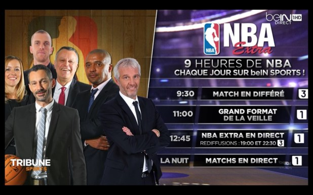 nba extra 2015 bein sports