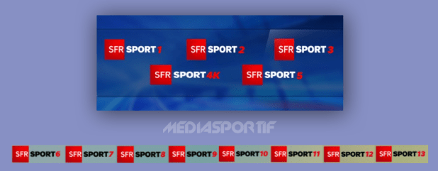 SFRSPORT 13 CANAUX