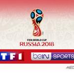 illustation coupe du monde 2018 tf1 bein sports