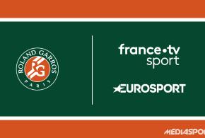 Roland Garros 2019 : Le dispositif et le programme TV complet du Grand Chelem français sur Eurosport et France Télévisions