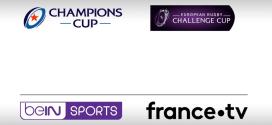 Coupes d'Europe de rugby 2019 – 2020 : Le dispositif de beIN SPORTS et France Télévisions