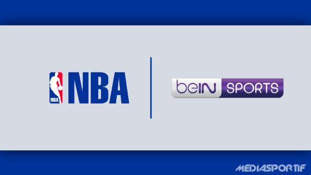 Logo NBA sur beIN Sports