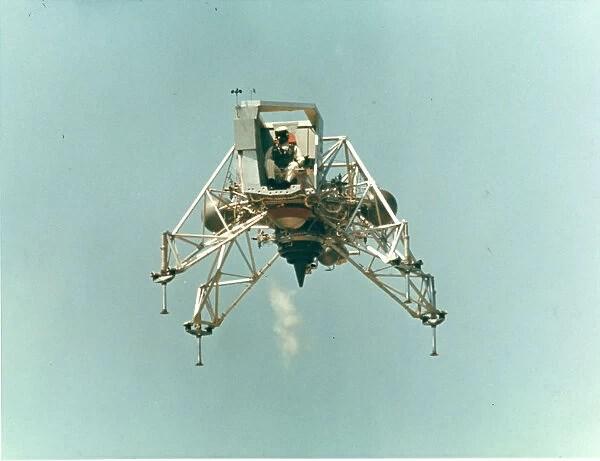 A Lunar landing Training Vehicle. Date (18388443) Fine Art ...