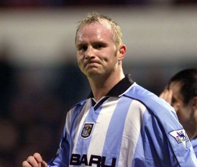 Coventry Citys John Hartson After Scoring A Goal Only For It To Be Disallowed For Offside