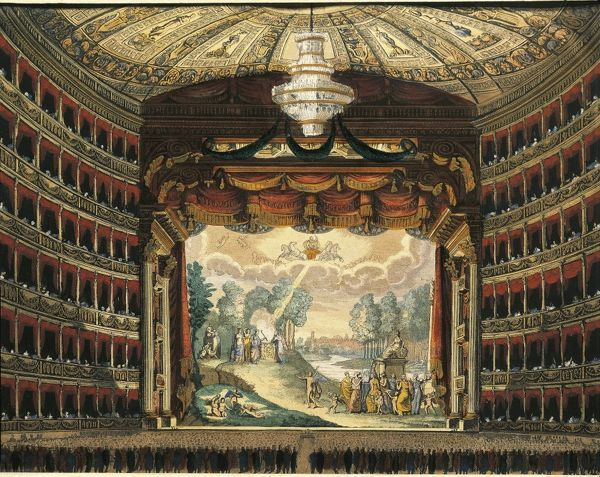 Italy, Milan, Teatro alla Scala (La Scala Theater) (9505553)