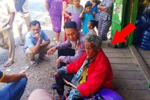 Kakek Ini Berjalan Kaki dari Enrekang Ditemukan Terlantar di Maros