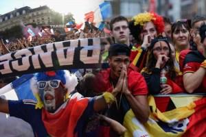 Menang Piala Dunia, Warga Perancis Berpesta Pora